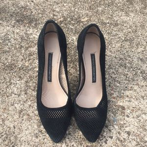 French Connection black pump. Size 7.